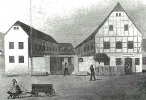 Fährhaus historische Anischt